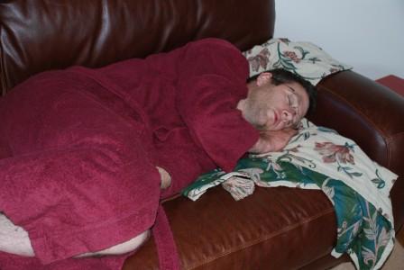john-asleep