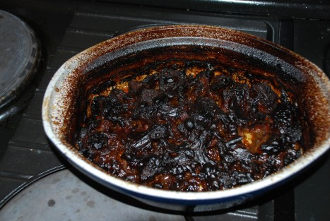 beef caserole incineration