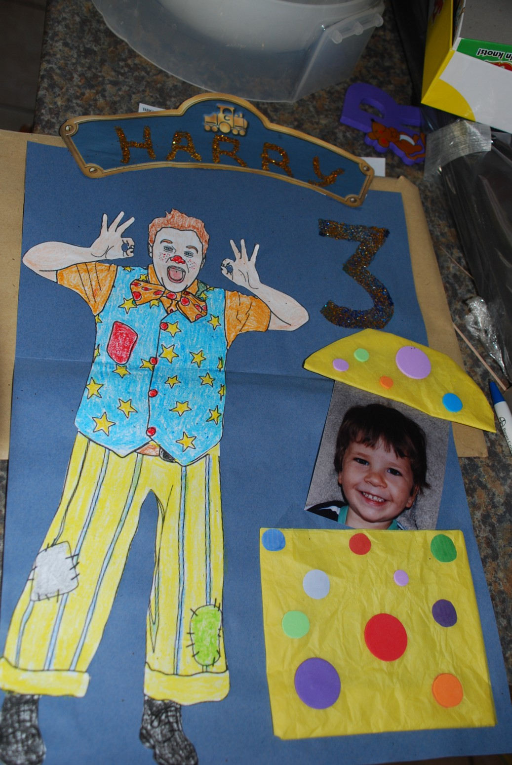 June 2010 – Mr Tumble Birthday Card