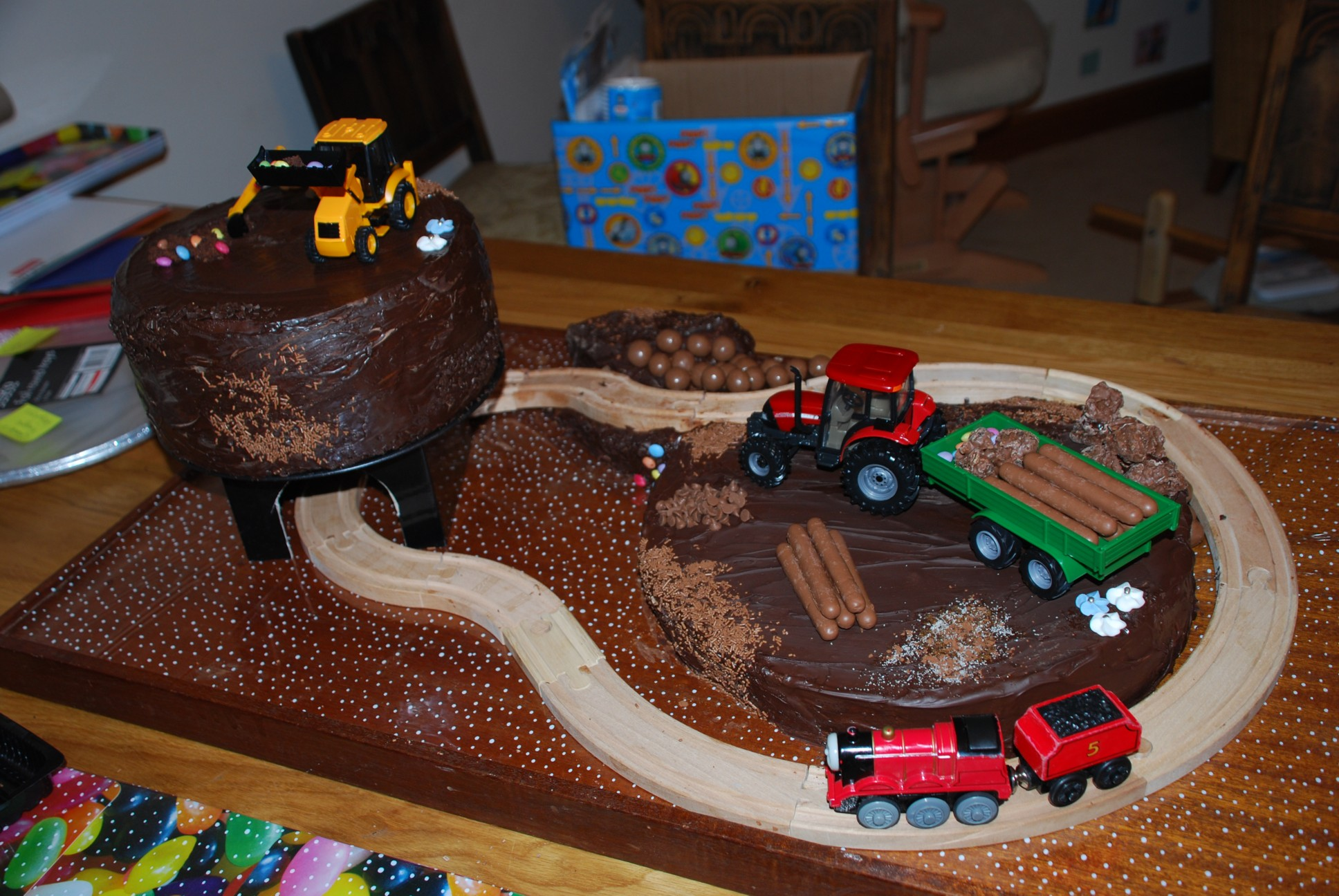 Digger Birthday Cake To Buy
