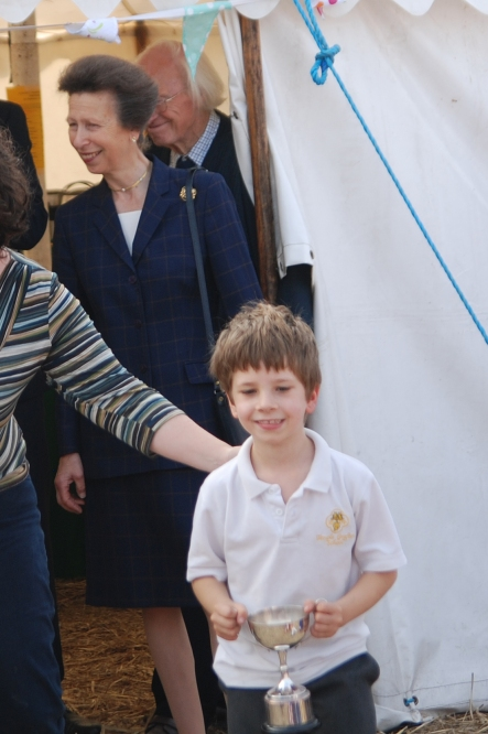 Harry & Princess Anne